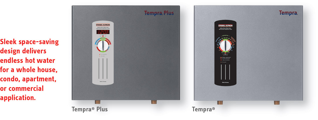 Tankless Water Heater Tempra 174 On Demand Water Heating